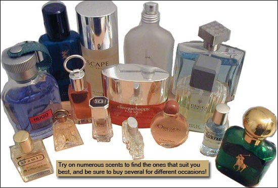 tipuri de parfumuri, parfumul potrivit