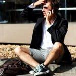 Inovaţia ţinutei de primavară-vară : pantaloni scurţi la sacou