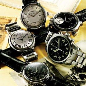 Reguli de asortare a ceasurilor bărbăteşti la ţinută