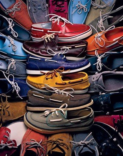 Pantofii de iaht boat shoes – Încălţămintea de primăvară-vară