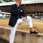 Pantalonii albi de vară