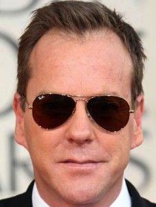 kiefer_sutherland ochelari de soare, fata alungita