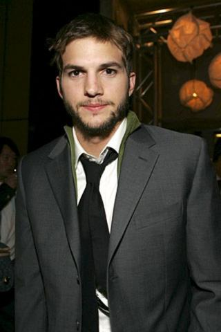 ashton kutcher, nonsalant