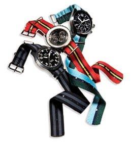 curele de ceas, curele panza, asortare ceas stil pentru vară