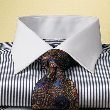 Gulerul la cămașă și fizionomia