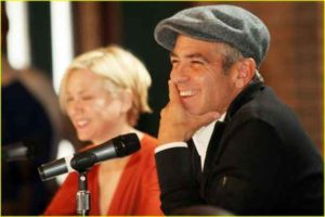 George Clooney, basca, tinuta