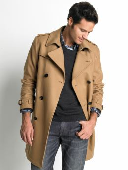 Pea coat, camasa, pulover