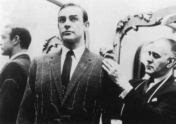 Influențe din moda britanică : Savile Row - strada hainelor facute la comandă