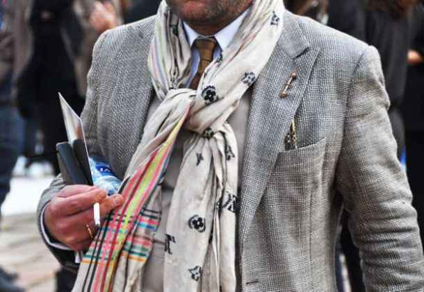 esarfa, fular, costum, stil, nod, sacou, cravata, camasa