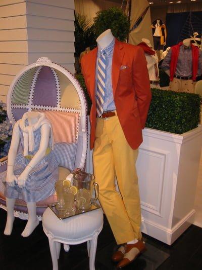Colecția Brooks Brothers primăvară - vară 2011