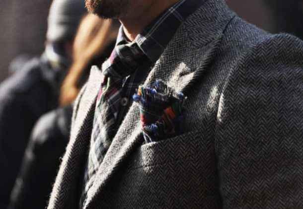 textura de iarna bărbații din Milano