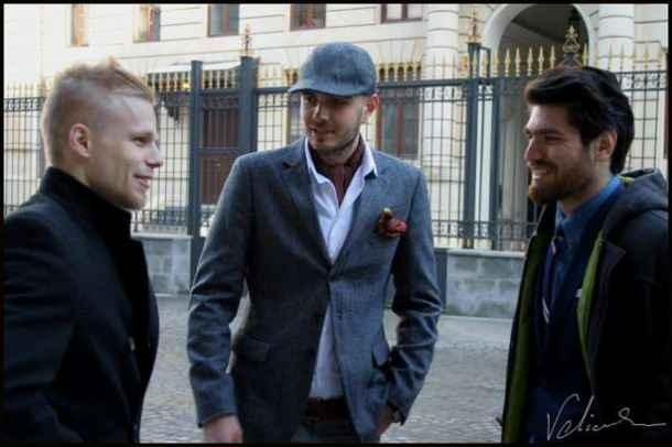 Cum se îmbracă bărbații din București