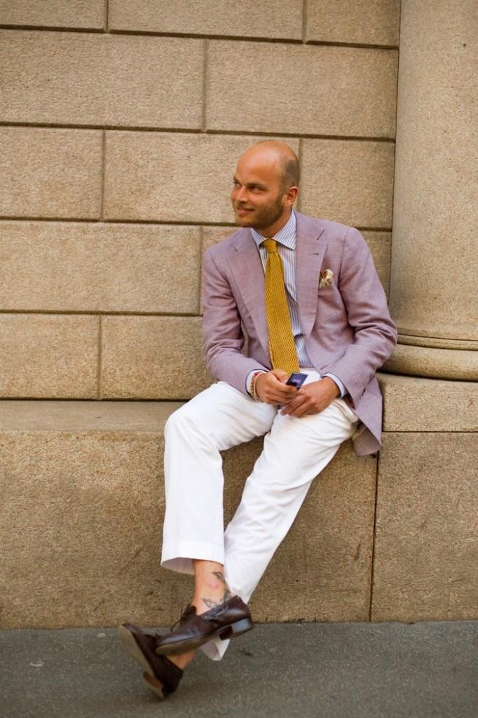 Style Icon - Luca Rubinacci