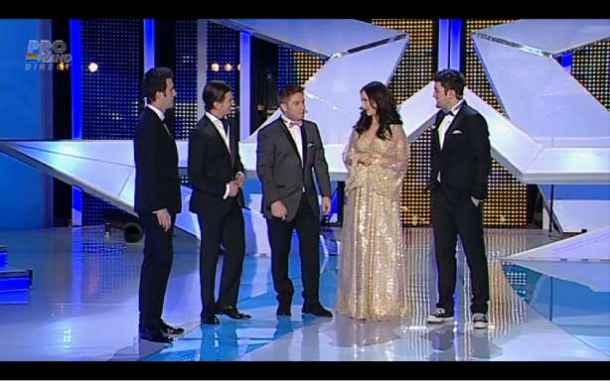 Smiley cel mai bine îmbrăcat la finala Românii au talent