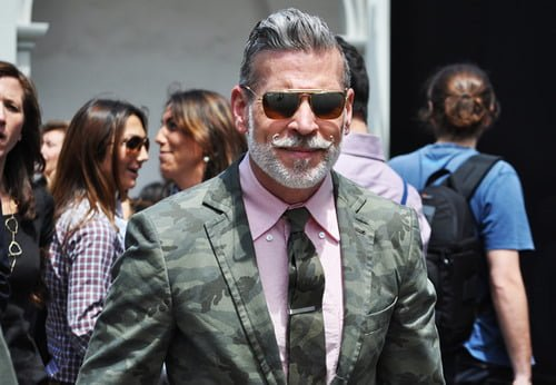 Style icon - Nick Wooster