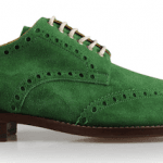 Pantofii brogue coloraţi