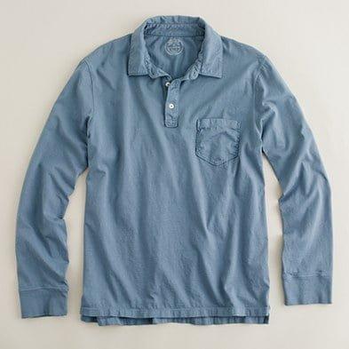 Tricoul polo cu mânecă lungă