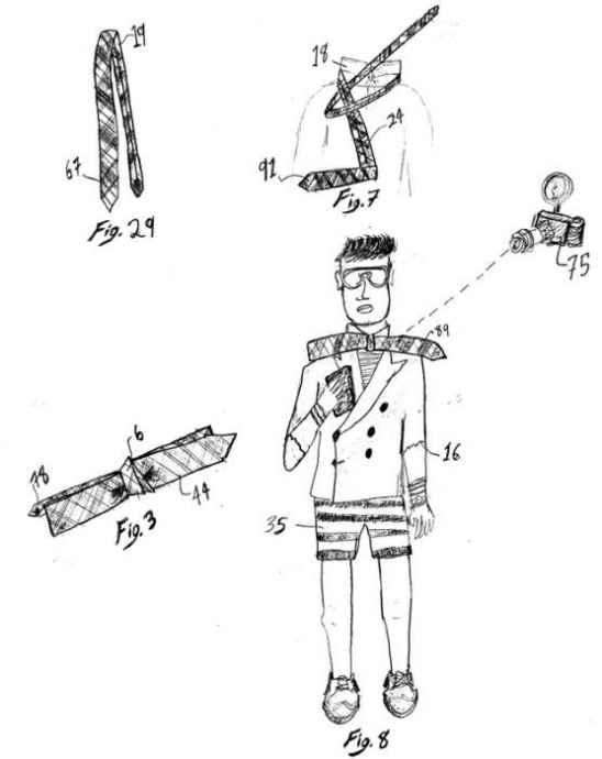 cravata pe post de papion