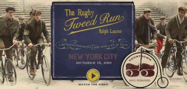 The Rugby Tweed Run Ralph Lauren