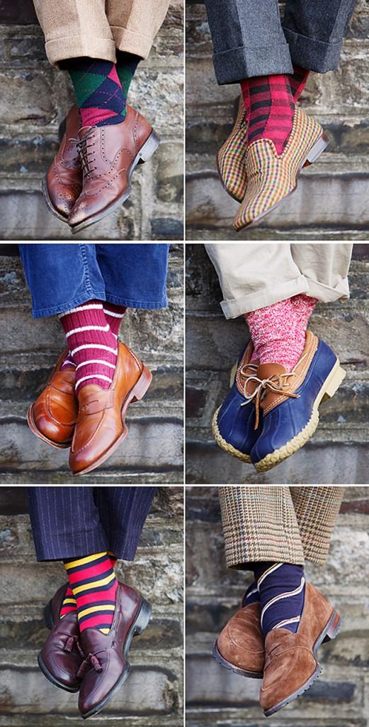Şosetele colorate - pata de culoare în orice sezon