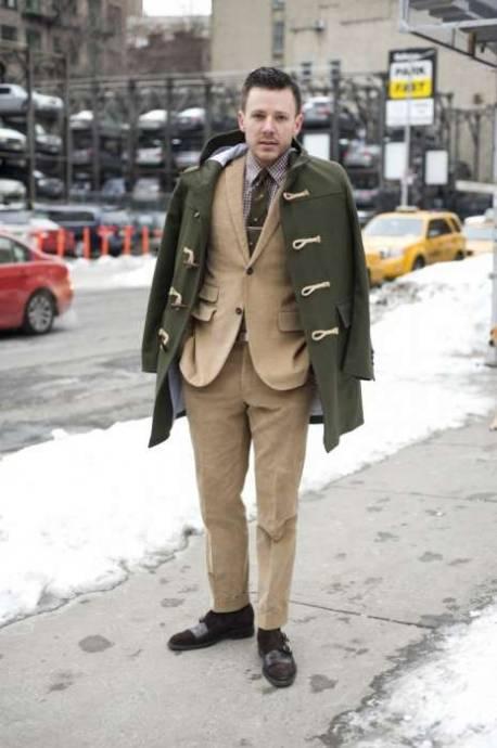 Haina din sibir sau duffle coat