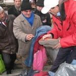 Rezultatele campaniei colectării de haine pentru adulții fără adăpost