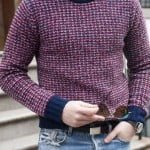 Ai renunța la puloverul sau bluza cu guler rotund?
