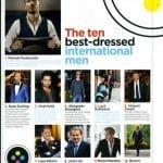 Top zece cei mai bine îmbrăcați bărbați din lume