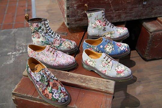 Pantofi florali