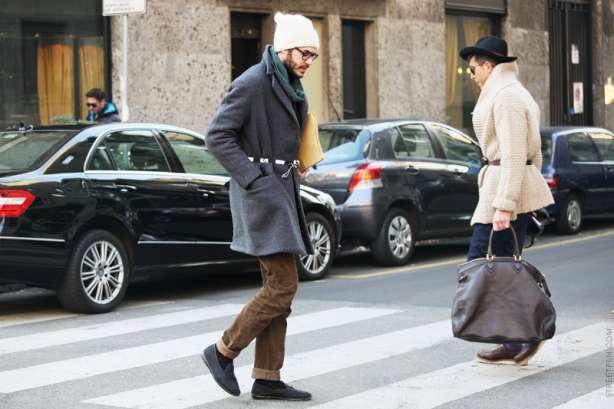 Bărbați pe stradă street style