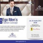 Ego Men's Fashion Concept va lansa colecția de primăvară – vară 2012