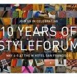 Styleforum va sărbătorii 10 ani de existență