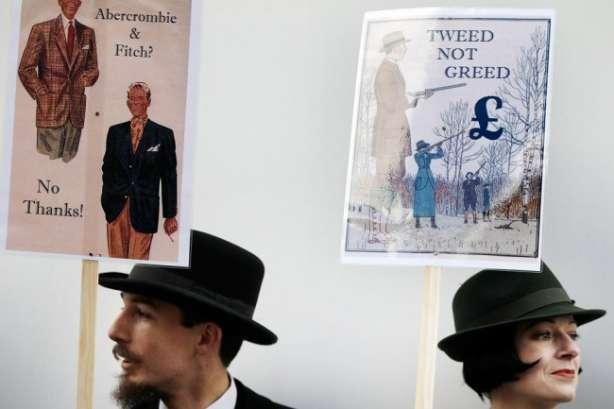 protestul Savile Row