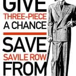 Protest pe Savile Row