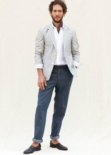 pantaloni rulati