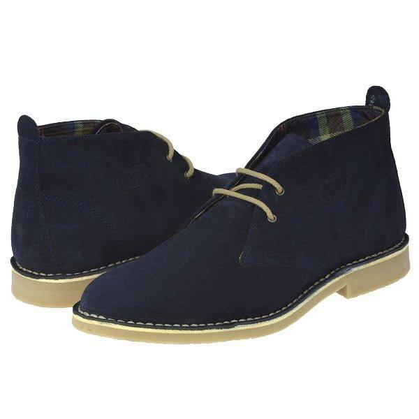 desert boots bleumarin