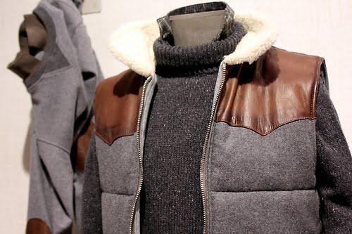 Vesta Gilet, puloverul pe gat Eleventy Pitti