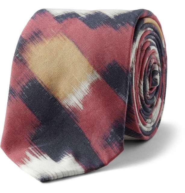 Cravata Ikat