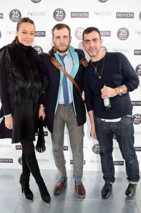 Andreea Raicu, eu si Antonio Berardi