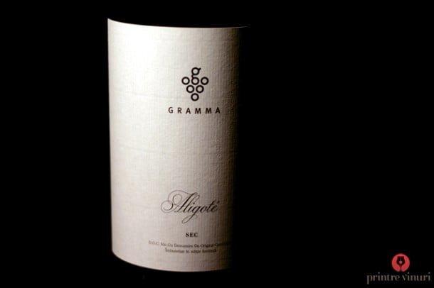 vinuri în casă Aligote 2011, Gramma
