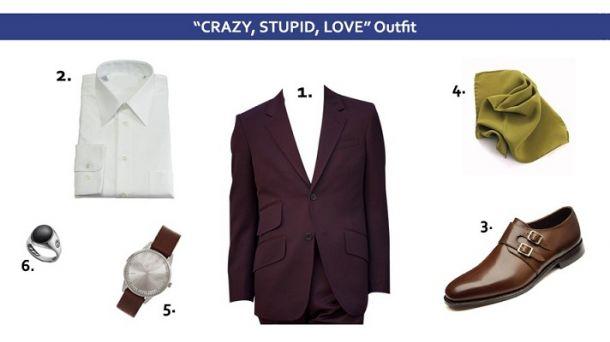 Articole vestimentare din Crazy, Stupid, Love
