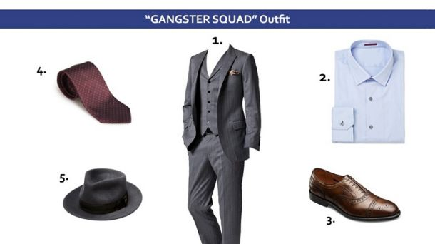 Piese vestimentare Gangster Squad