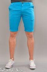 Pantaloni scurti albastrii