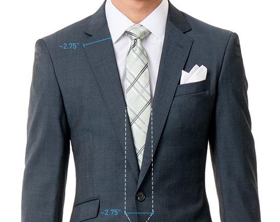 Proporții cravata