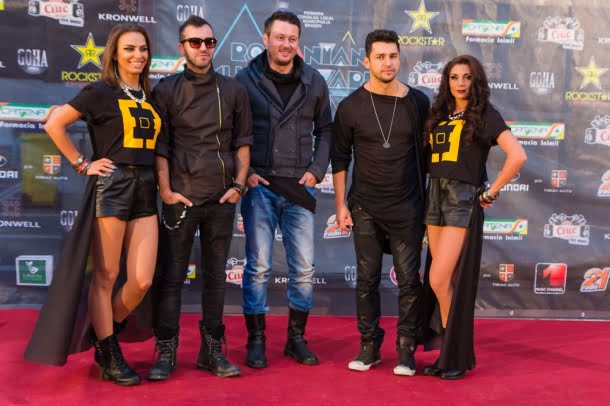 Cici si Deepcentral Romanian Music Awards