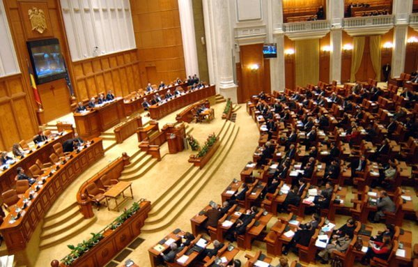 cod vestimentar în Parlamentul României