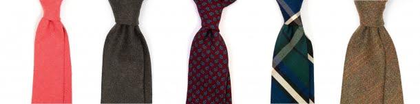 cravate toamnă iarnă