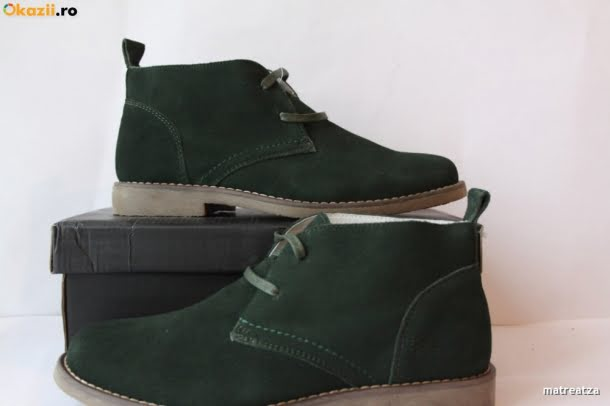 Desert boots verzi