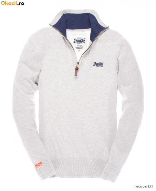pulover cu fermoar