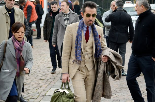 Street style Pitti Uomo 85 – Inspired by Peroni Italy